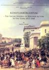Künstlerbürgertum. The Social Spheres of Berliner Actors in the Years 1815-1848