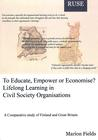 To Educate, Empower of Economise? Lifelong Learning in Civil Society Organisations