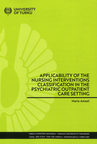 Applicability of the nursing interventions classification in the psychiatric outpatient care setting