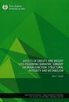 Effects of obesity and weight loss following bariatric surgery on brain function, structural integrity and metabolism