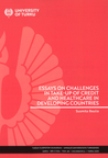 Essays on challenges in take-up of credit and healthcare in developing countries