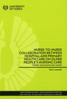 Nurse-to-nurse collaboration between hospital and primary health care on older people's nursing care - Model, instrument and results