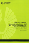Prenatal stress, genetic variations and recurrent respiratory tract infections -the FinnBrain Birth Cohort Study