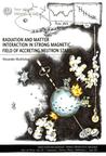 Radiation and  matter interaction in strongmagnetic field of accreting neutron stars