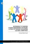 Responding to Changing Student Demographics in Finland: A Study of Teachers' Developing Cultural Competence