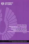 Socio-digital participation, friendship and academic support among sixth to ninth graders in Finland
